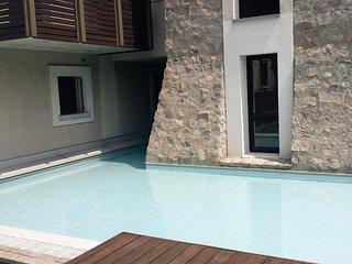 Appartamento in centro con piscina, Moniga del Garda