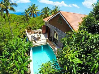 Luxurious Rainforest Villa, Soufrière