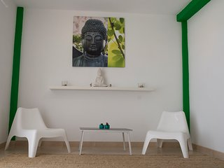 The green ZEN corner :), El Cotillo