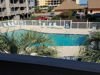 Book your summer vacation early! Extended stay winter rates! First level condo!