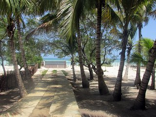 Villa Coco, directly on a fine white Beach, Punta Rucia