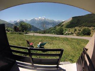 Appartement plein sud avec balcon, L'Alpe d'Huez