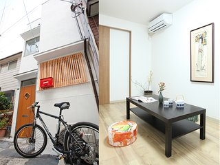 Osaka sta3min 6beds 40m²3rooms wifi Private house
