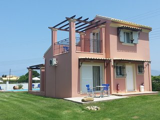 Villa Filia 1 with pool in Almyros Beach, Acharavi, Corfu