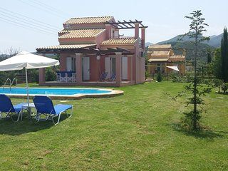 Villa Filia with pool in Almyros Beach, Acharavi