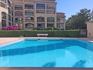 T2  résidence avec piscine- 4 pers - Sainte-maxime