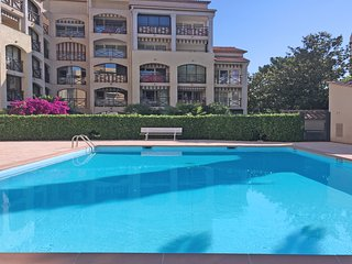 T2  residence avec piscine- 4 pers - Sainte-maxime