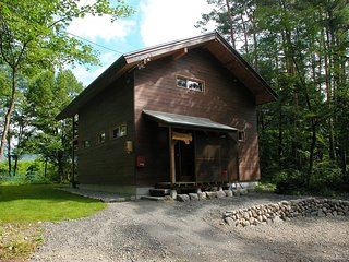 Front of the Chalet in Summer.