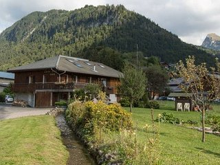 Alpine chalet , catered, B&B and self catered