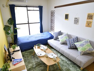 #103 Shinjuku(5mins) easy access/ Residential area