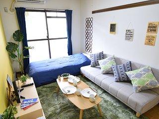 #103 Shinjuku(5mins) easy access/ Residential area