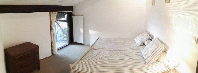 Doppelzimmer 2 mit angrenyendem Badezimmer