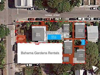 Bahama Gardens Site Plan - Aerial View