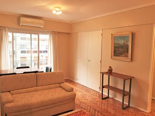 Refurbished to New, Luminous & Spacious 1BR, Buenos Aires