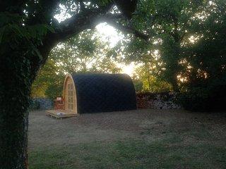 Chambre insolite dans cabane en pleine nature