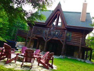 Luxurious Log Home in Tremblant area, Lac-Superieur