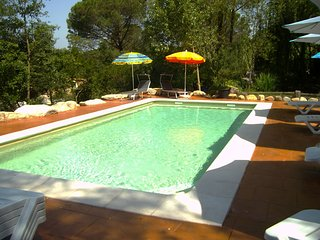 Beautiful villa with saline pool for 7 guests