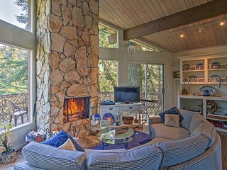 Cabin w/Mtn Views -2 Mi. to Town & Lake Arrowhead!
