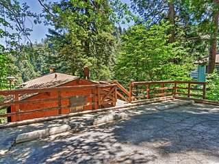 Cabin w/Mtn Views -2 Mi. to Town & Lake Arrowhead!