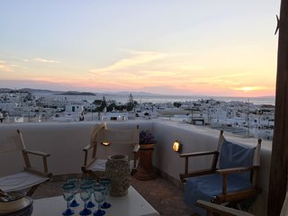 Boutique Townhouse w. Amazing View, Ciudad de Míkonos