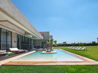 Luxury architect-designed villa near Marrakech, Marrakesch