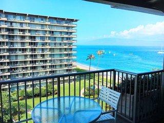 Whaler 813 - Studio Ocean View Condominium, Lahaina