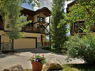 Private Shuttle and City Shuttle Service - Quiet End Unit with 3 Decks (8378), Steamboat Springs