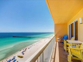 Calypso 2-1602 West-3BR-AVAIL7/29-8/5- RealJOY Fun Pass- BeachFRONT, Panama City Beach
