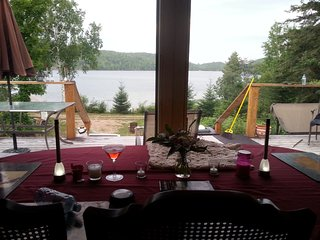 Barrys Bay Offgrid Secluded,Sandy, 60's 800sqft.Cottage 4 level 800 sq ft deck, Barry's Bay