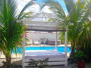 Beau T2 a Ste-Luce, avec piscine, spa