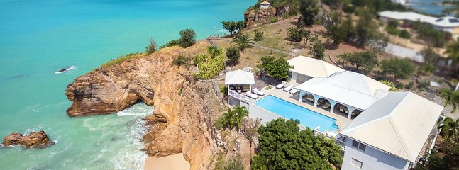 Villa Pointe Des Fleurs 4 Bedroom (Situated On A Dramatic Cliff Side, Villa