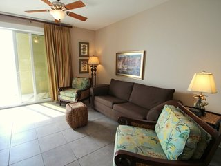 Take a break at the beach at this 2 Bedroom beachfront condo on the 13th Floor at Grand Panama Resort, Panama City Beach