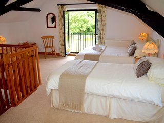 Vine Cottage on Magical North Devon Coast, Hartland