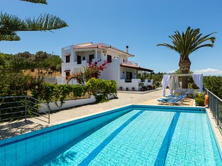 Villa Aetos - Sea view, full Privacy & Walking distance to a sandy beach!