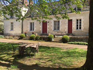 Manoir in Loire valley in private property, Azay-le-Rideau