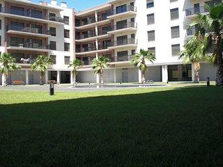Apartamento Trufa en la Playa Esquirol con piscina