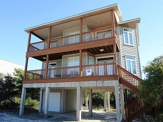 3 bedroom/ 3 bathroom  Gulf View Home on Cape San Blas