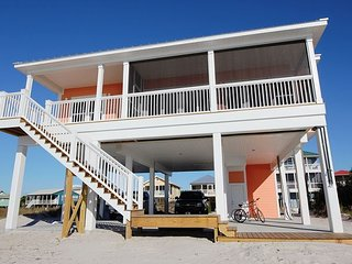 Newly Built Gulf Front Home!!, Port Saint Joe