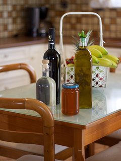 A welcome Basket with Cretan products, will wait for you in the villa upon your arrival!