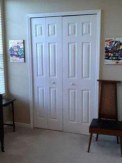 Bedroom #2- Full closet (3rd floor)