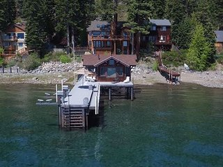 Boater's Paradise - Lakefront Home with Hot Tub, Pier & Guest House - Dogs OK