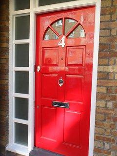 Big Red Door At No4