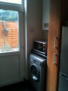Kitchen (Microwave and Washer/Dryer