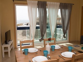 Pent house apartment with ocean sunset view, El Cotillo