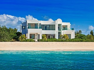 Modern Architectural Beachfront Villa in Anguilla