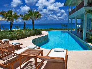 Plantation Style Luxury Beachfront Retreat in Anguilla, Long Bay Village