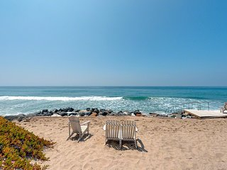 Malibu Ocean Front Villa On The Sand On Broad Beach, Malibú
