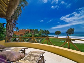 Luxury Beachfront Estate with Private Beach in Los Ranchos, Punta de Mita