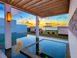 Contemporary Oceanfront Luxury East Villa on Meads Bay Beach, Anguilla