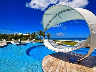 Breathtaking Beachfront Modern Masterpiece Villa in St Martin